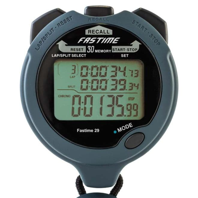 Fastime 29 Stopwatch (30 Lap Memory) - Saturn Stopwatches