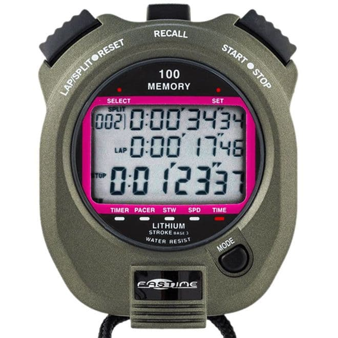 Fastime 7 Stopwatch (100 Lap Memory) - Saturn Stopwatches