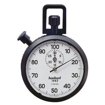 Hanhart Decimal Mechanical Stopwatch
