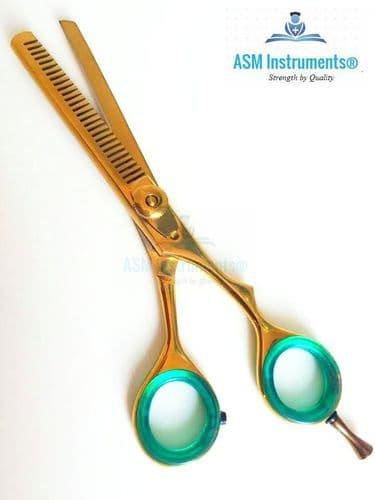 "6"" Barber Salon Hairdressing Hair Cutting Thinner Scissor Shears Razor Sharp J2"