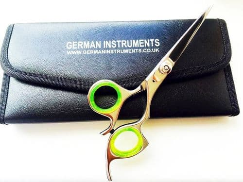 "6"" Hairdressing Hair Cutting Scissors Saloon Shears Barber Super Cut Pouch Razor"