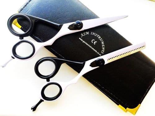 "6"" Saloon Hairdressing Hair Cutting Scissor Thinning Barber Set Super Cut Razor"
