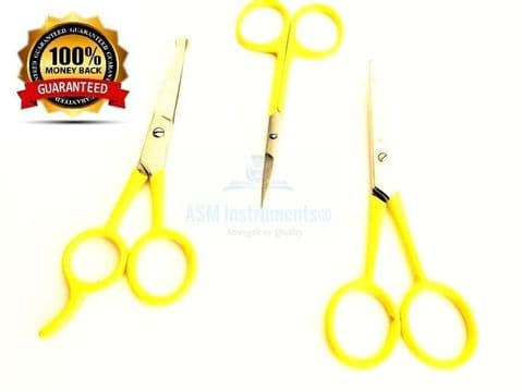 AsM  Professional Cuticle,soft nail, Eyebrow Hair Salon Stainless Steel Scissor