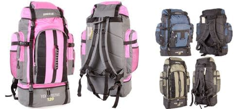Borderline XLarge 120L Travel Hiking Camping Festival Luggage Rucksack Backpack