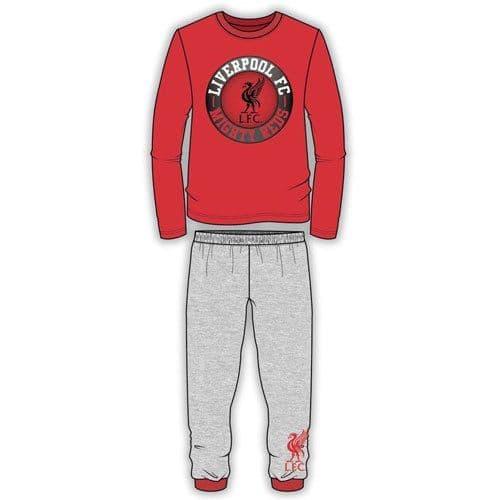 Boys Liverpool Mighty Reds Football Boy's Pyjamas Long PJ Set Kids  Pyjamas Set