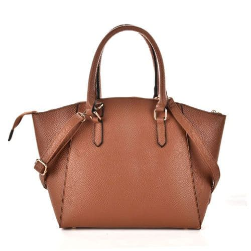 Brand New PU Leather Women Casual Solid Large Handbag, Ladies Leather Bag