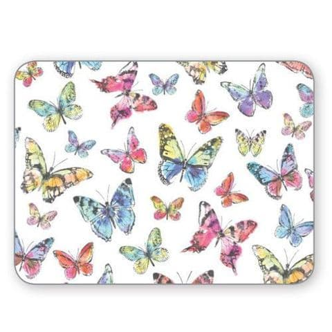 Cooksmart Butterfly Placemat Set of 4 Table Mat Place Dining  29x21.5cm Kitchen