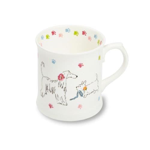 Cooksmart Dapper Dog Fine Chins Mug Tea Coffee Mug Just In Range Tea Coffee Mug