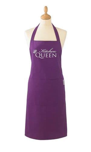 Cooksmart Kitchen Queen Ladies Cotton Apron Xmas birthday gift Apron