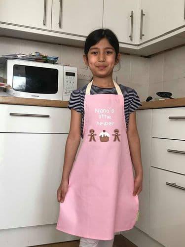 Kids Junior Chef Apron Children Cooking Baking Mummy Nanna Grandma Little Helper