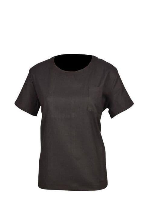 Ladies Women Linen T-Shirt Summer Beach Holiday Causal Night Wear 10 12 14 16 18