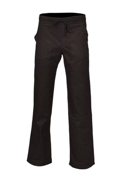 Ladies Womens 100% Cotton Trousers Casual Summer Bottom Holiday 10 12 14 16 18