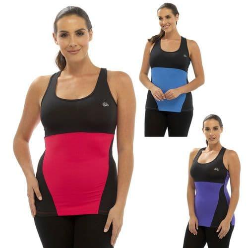 Ladies Yoga Pants Top T-Shirt Gym Jogging 3/4 Bottoms Pilates Fitness Size 8-18