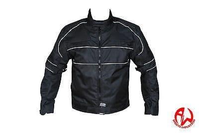 Men's Armoured WaterProof Cordura Textile Motorbike Motorcycle Jacket-Windproof