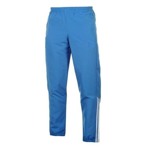 Mens Tracksuit Bottoms Mesh Lining Casual Gym Jogging Joggers Sweat Pants Blue 2
