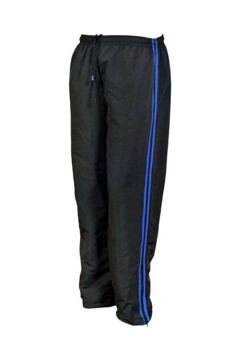 Mens Tracksuit Bottoms Mesh Lining Silky Casual Gym Jogging Joggers Pants Stripe
