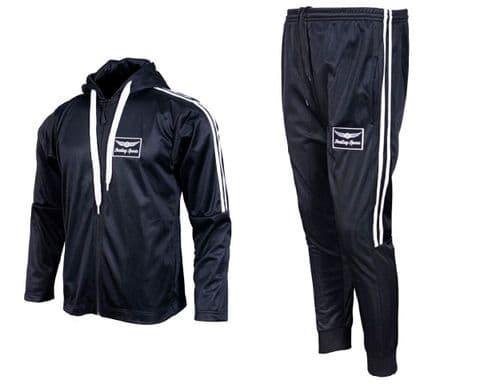 Mens Tracksuit Joggers Sweatshirt Hoodie Zip Up Top Jog Pants Cuffed Trouser