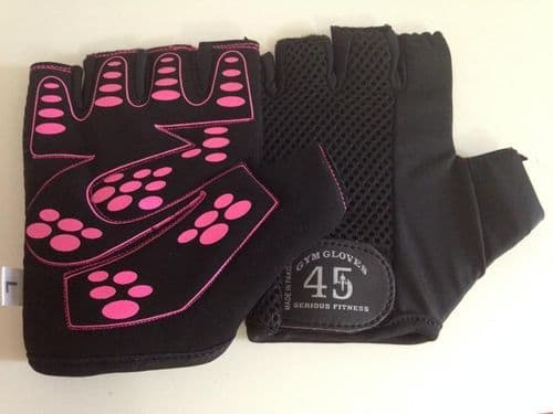 New Ladies Sports weight lifting Cycling Gym Bike Outdoor Gloves Ladies Gloves