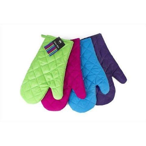 New Single Oven Gloves Plain 100% Cotton Single Oven Glove