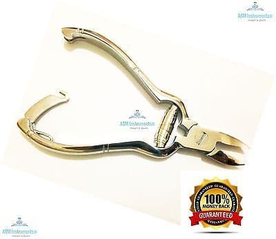 Professional Barrel Spring Heavy Duty Toe Nail Cutter Clipper Chiropody Podiatry