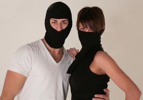 Thermal Cotton Fabric Balaclava Mask Neck Warmer for Fishing-Cycling & Motorbike