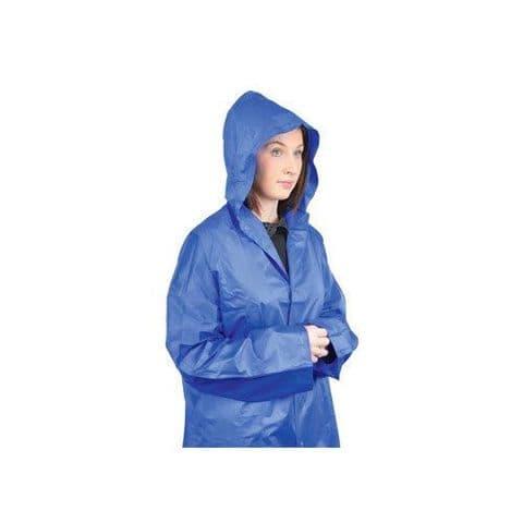 Unisex Adult Outdoor Rain Coat with hat PVC Waterproof rain coat for men/women