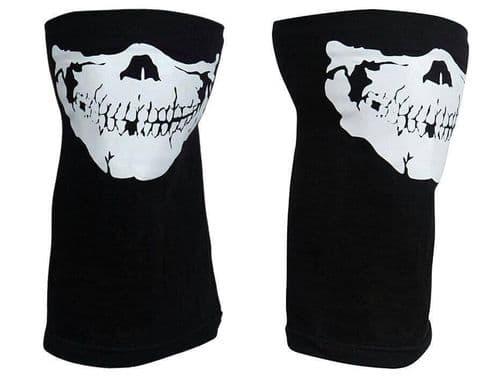 Full Function Skull Skeleton Face Mask Neck Tube Scarf Biker Motorcycle Bandana