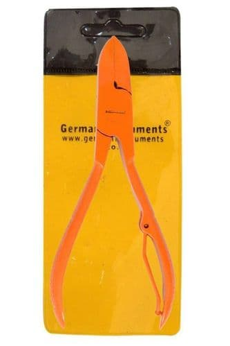 German®HeavyDuty Toe Nail Cutter Clipper Chiropody Thick Nail Orange Nail Cutter