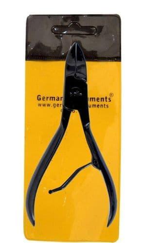 German®HeavyDuty Toe Nail Cutter Clipper Chiropody Thick Nails Black Nail Cutter