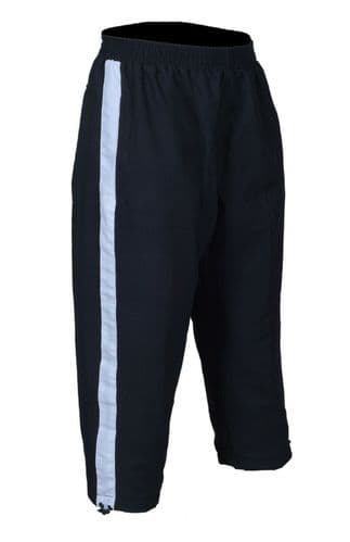 Mens 3/4 trousers mesh lining bottoms One Stripe Sweat Pants Joggers Jogging Gym