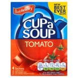 Batchelors Cup A Soup Tomato & Red Pepper  4 Pack 98g