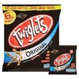 Jacobs Twiglets Snacks 6 x 24g