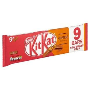 Kit Kat 2 Finger Orange 9 Pack 186.3G
