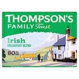 NI Thomsons Irish Breakfast Tea 80's 250g