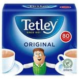 Tetley Tea Softpack 80 Tea Bags 250g