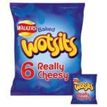 Walkers Wotsits Cheese Snacks 6 x 16.5g