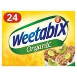 Weetabix Organic Whole Grain Cereal 24 Pack