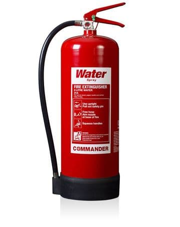 9 Litre Water Fire Extinguisher