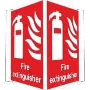 Projecting Fire Extinguisher Call Point Sign