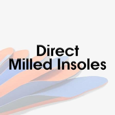 Direct Milled EVA Foot Orthoses