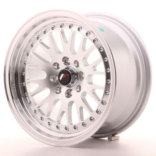 Japan Racing JR10 15x8 ET15 5x100 5x114.3 Machined Silver