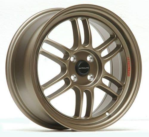 Ultralite F1 17x7.5 ET42 4x100 Bronze