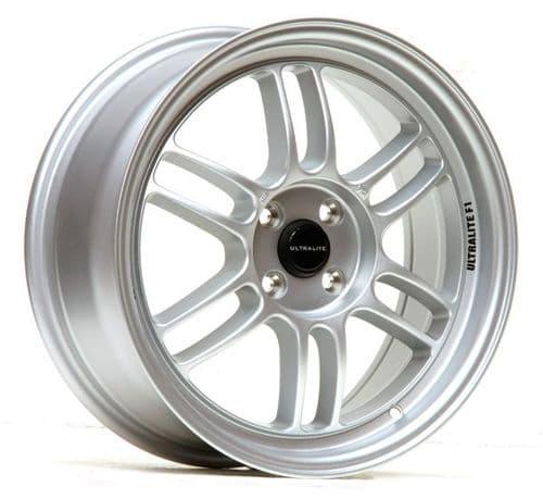 Ultralite F1 17x7.5 ET42 4x100 Silver