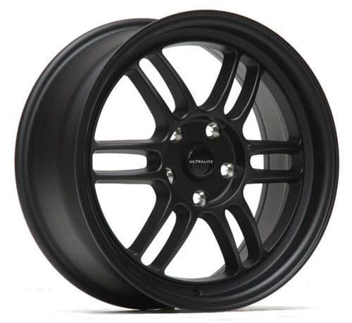 Ultralite F1 17x7.5 ET42 5x114.3 Black