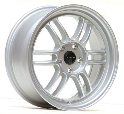 Ultralite F1 17x7.5 ET42 5x114.3 Silver