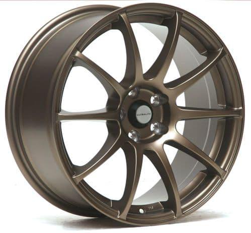 Ultralite R5 17x8 ET35 5x100 Flat Bronze