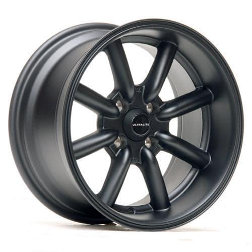 Ultralite TB 15x8 ET0 4x100 Flat Black