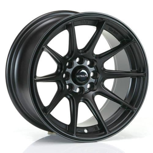Ultralite Ul11 15x8 ET0 4x100/4x108 Flat Black