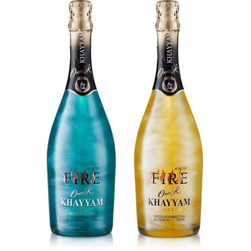 Fire Sky & Fire Volcano Premium Sparkling Wine With Visual Effect - Value Pack