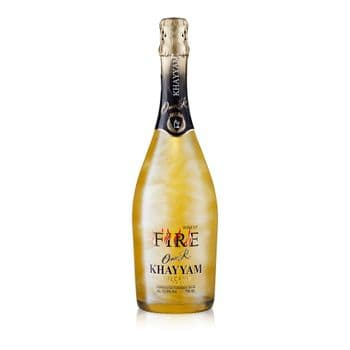 Fire Volcano - Premium Sparkling Wine with Visual Effect - Lemon